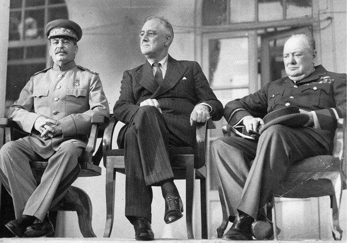 Big Three in 1943