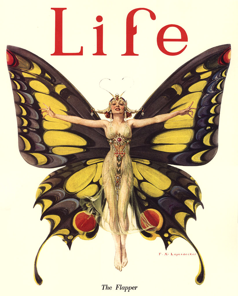 "Life Magazine cover ""The Flapper"""