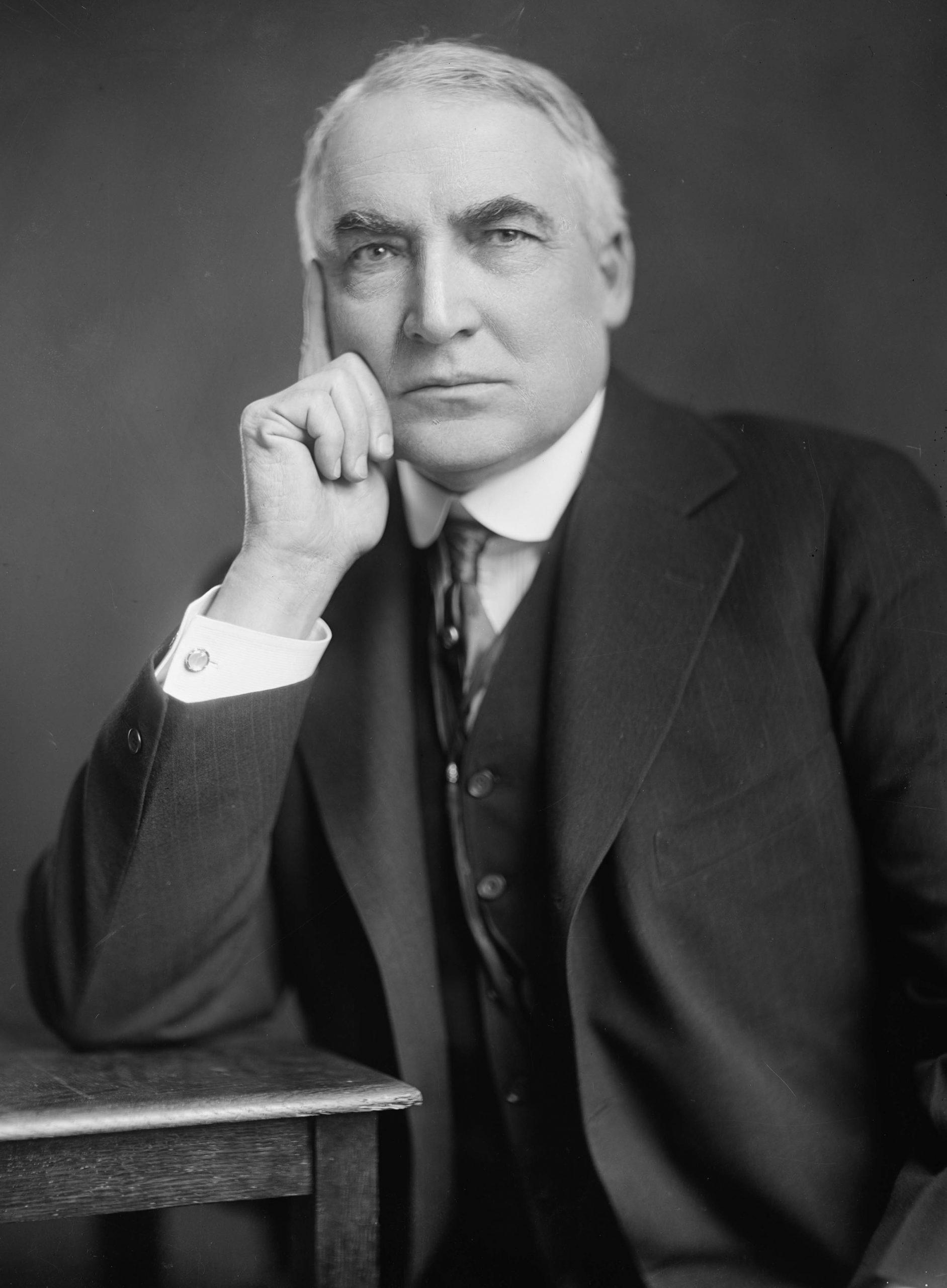 Warren G. Harding in 1920