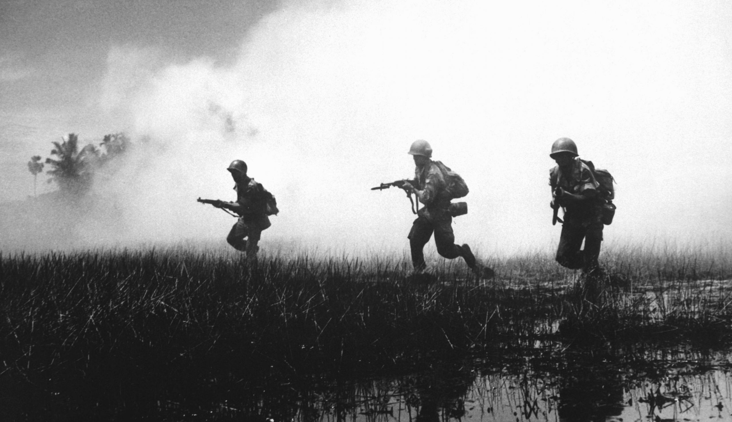 US soldiers in Mekong delta