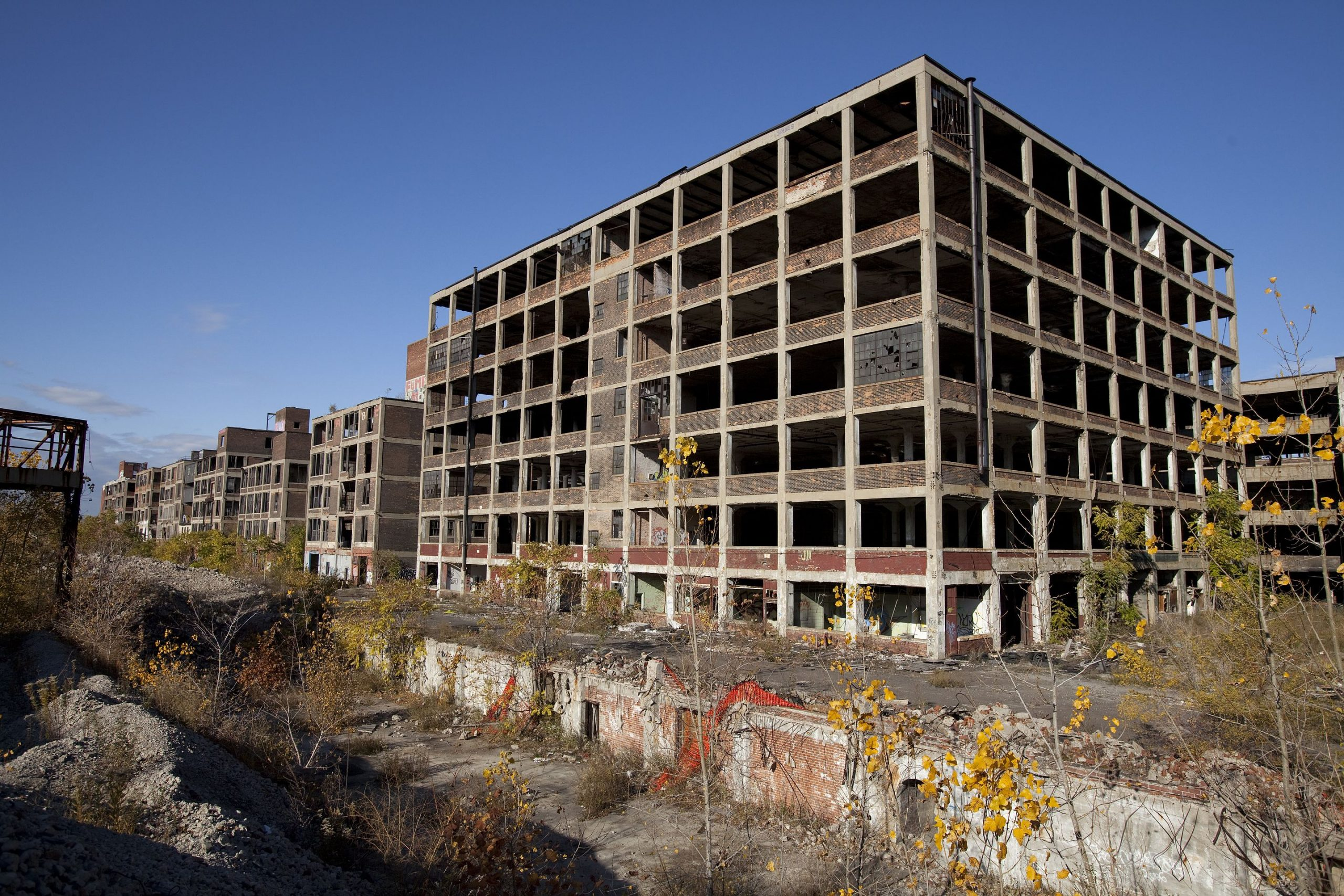 abandoned Packard Automotive Plant