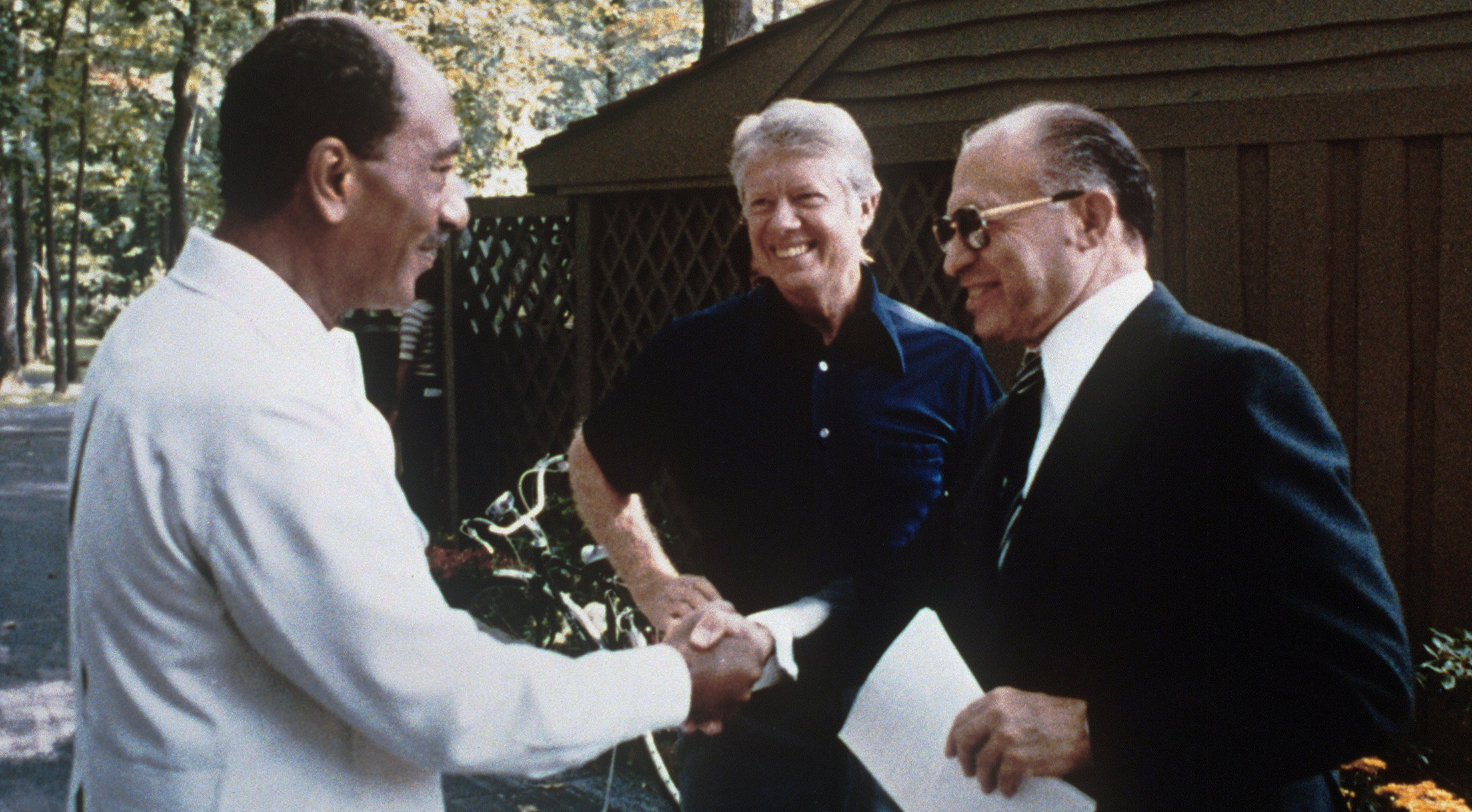 Carter, Begin, and Sadat