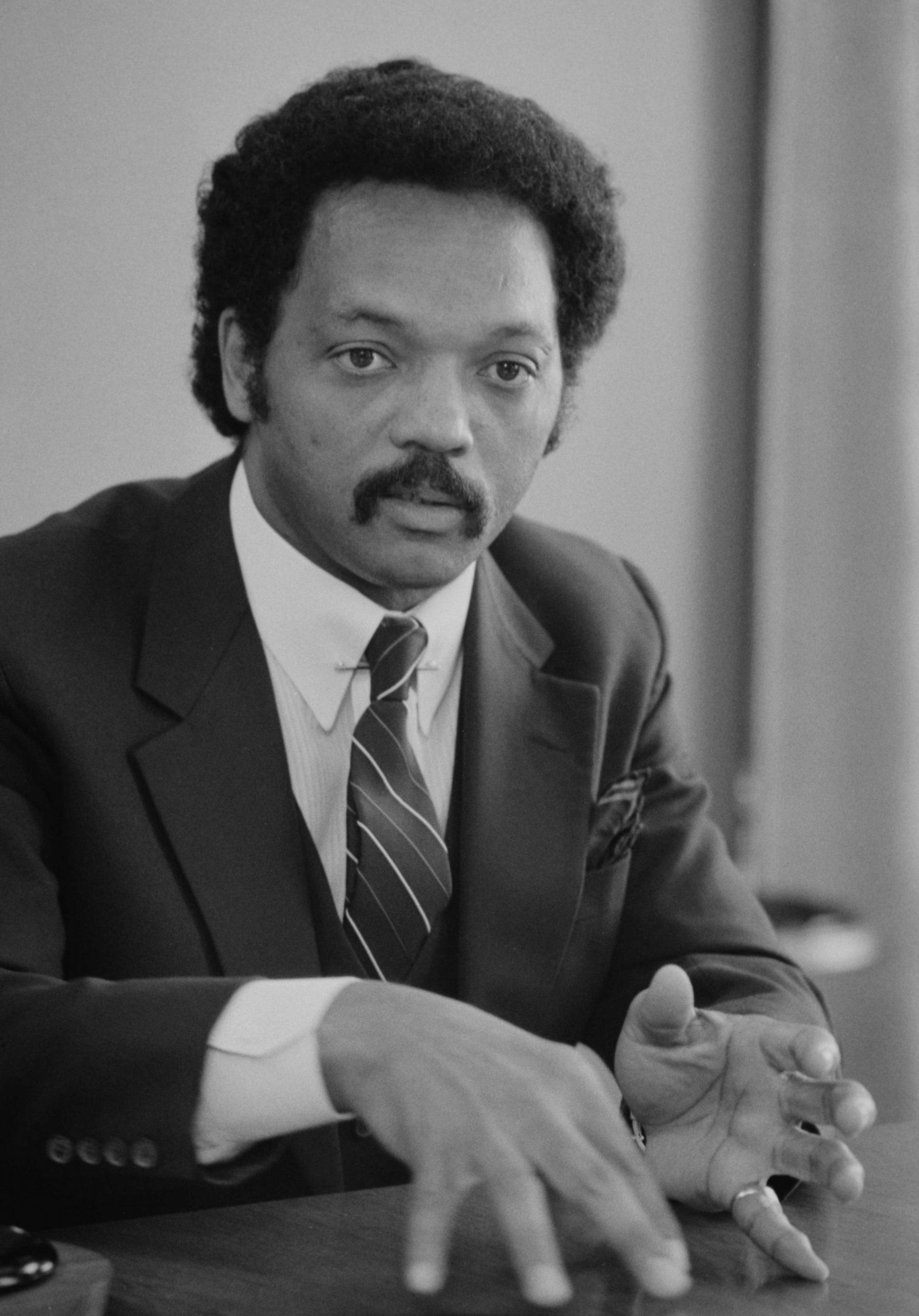 Jackson in 1983