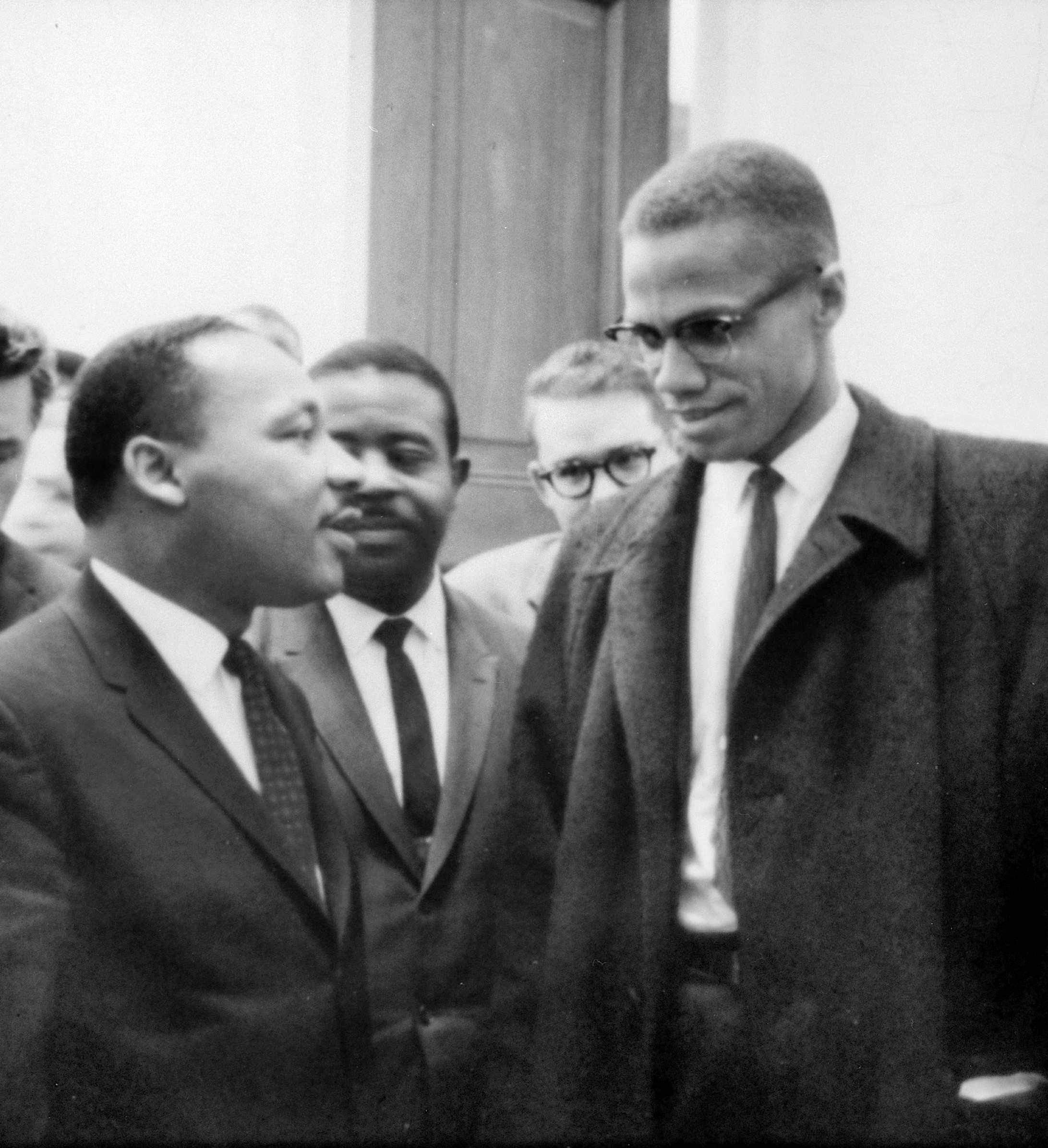 King and Malcolm X