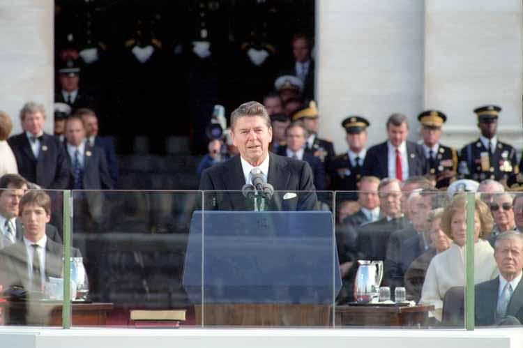 Reagan inaugural address