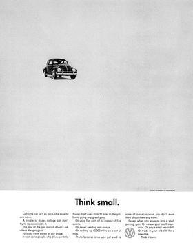 VW Beetle Ad